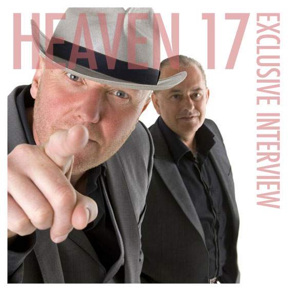 HEAVEN 17 - GLENN GREGORY INTERVIEW (2012)